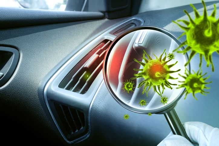 zapach z samochodowej klimatyzacji